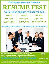 Resume Fest Flyer
