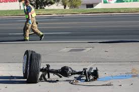 Lexus reportedly going 85 mph on Bluff Street slams into truck – St ...