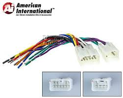 double din wiring harness double image wiring diagram toyota corolla double din car stereo radio install dash bezel kit on double din wiring harness