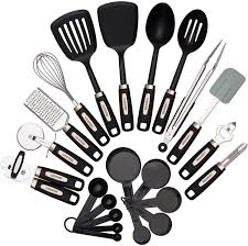 American Made Kitchen Utensils Amazoncom Cooking Utensils Set 22 Piece Home Kitchen Tools