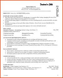 summary section of resume | moa format