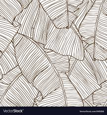 Palm Leaf Pattern Interesting Palm Leaves Pattern Royalty Free Vector Image VectorStock