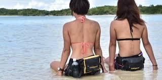 Водонепроницаемые сумки на пояс для плавания