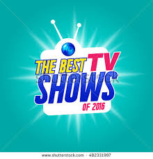 tv shows logo. template for tv shows. shows time. the best it can be logo
