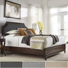 Darren Upholstered Linen Arched Bridge Top Bed by iNSPIRE Q Classic - Free  Shipping Today - Overstock.com - 23876893