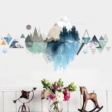 wall sticker wall decal simple wall