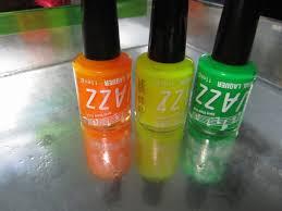3x Neon Laky Na Nehty Zelená žlutá Oranžová Bazar Omlazenícz