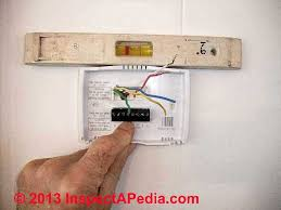 guide to wiring connections for room thermostats thermostat wire connections c daniel friedman