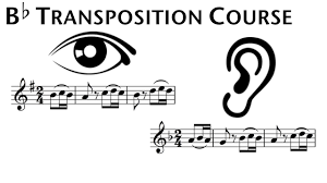 B Flat Clarinet Transposition Chart B Flat Transposition Course