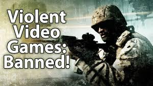 violent video games banned