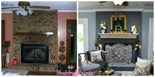 painted brick fireplace images chalk acrylic painted fireplace brick painted brick fireplace pictures before and after