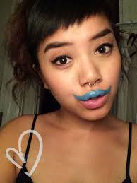 i mustache you do you play with makeup too