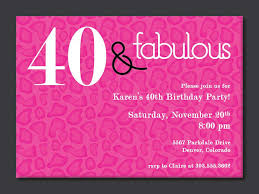 party invitations new 40th birthday party invitation wording design for additional printable party invitations