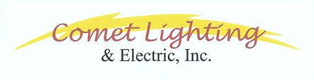 comet lighting. Comet Lighting And Electric Logo