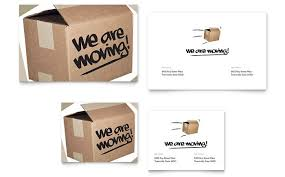 Moving Flyer Template Were Moving Note Card Template Design