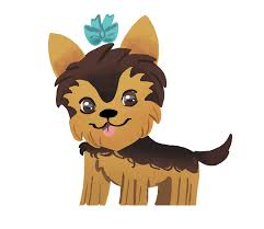 Cute Dog Yorkie Sticker for iOS ...