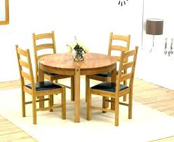 4 chair dining sets 4 chair table set round dining sets for oak and chairs extending stylish room
