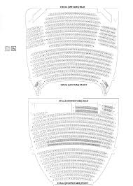 Theatre Royal Newcastle Seating Chart Seating Plan