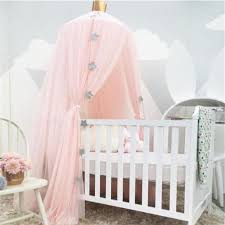 baby crib bed curtain sweet princess house mosquito net girls fashion mix color tent european style toddler new crib baby net for crib from baby sky