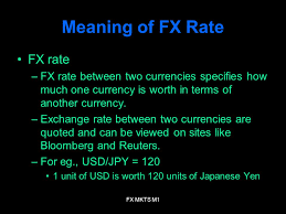 Quoted Meaning Adorable FX MKTS M48 Foreign Currency Markets Module 48 FX MKTS M48 Meaning Of