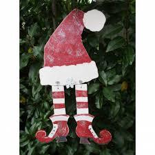 Weihnachts Deko Versteckter Wichtelholzdeko Für Die Wanddie Tür Oder Das Fenster Im Shabby Chic Landhaus Charme