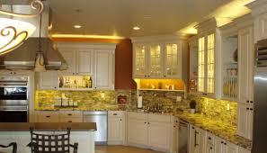 Over Cabinet Lighting For Kitchens BEFORE Over Cabinet LED Lighting