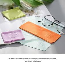 10x set multi color chamois glasses cleaner cleaning cloth len eyeglasses for