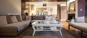 Beige Living Room Walls