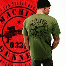 Usmc 0331 Usmc Infantry 0331 Machine Gunner Devil Dog T Shirt