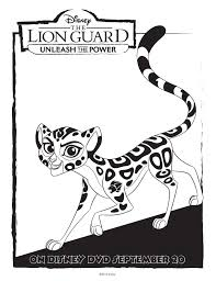 Small Picture Disney The Lion Guard Free Coloring Pages Mommy Mafia