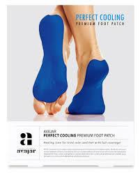 AVAJAR <b>Патч охлаждающий</b> для <b>ступней</b> ног / Perfect Cooling ...