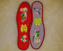 Aliexpress.com : Buy <b>1 pair Men Women</b> cotton Insoles Chinese ...