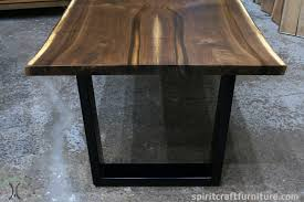 living edge lighting. Live Edge Dining Table In Solid Book-matched Black Walnut Slabs On Massive Living Lighting
