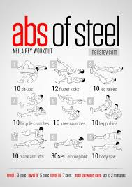 abs of steel workout abs of aluminum would be ok too i