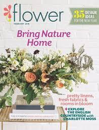 flower magazine subscription freebie mom