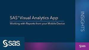 Visual Analytics Sas Visual Analytics App Working With Reports From Your Mobile Device
