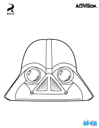 Small Picture Birds Darth Vader coloring page Original coloring page about