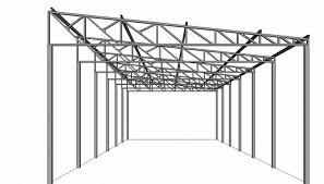O revestimento é em chapas de aço zincado e perfil trapezoidal (coberturas e fechamentos laterais). Empresa De Estrutura Metalica Usada Para Galpao Guarulhos Estrutura Metalica Para Galpao Metal Italo Estrutura Metalica
