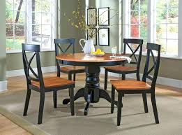 small wood dining table interesting furniture for dining room decoration using round pedestal black wood dining