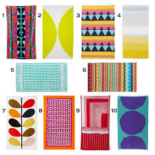 Designer Beach Towels 10 Colorful Modern Beach Towels Design Milk
