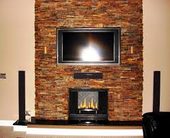 stacked stone fireplace cost