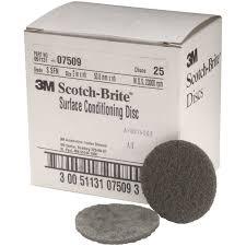 Scotch Brite Velcro Surface Conditioning Discs 2 In Fine 25