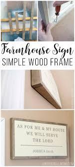 Best 25+ Wood frames ideas on Pinterest   Diy wooden picture ...