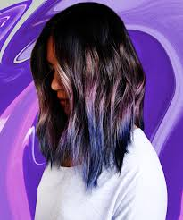 Purple Hair Style geode hair cool style purple pink blue colors 7571 by wearticles.com
