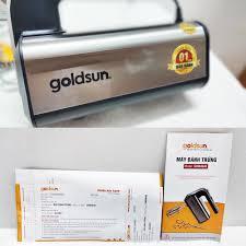 Máy đánh trứng cầm tay Goldsun GHM4640 công suất 350W - Bảo hành 12 tháng  chính hãng - Máy làm kem