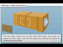 Making A Slide How To Make A Slide Projector Youtube