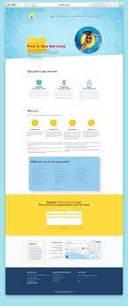 Web Design Long Beach Ca Website Design For A Pool Service Company Libertysky Graphics