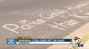 Coronado Sandman Cited Over Street Art