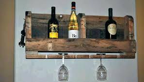 wood wine glass holder wooden rack bottle and plans