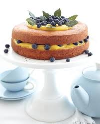 Berries Lemon Curd Cake Sweet Paul Magazine